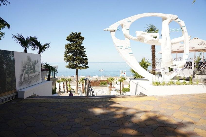 Пляж и набережная Ривьера - фото