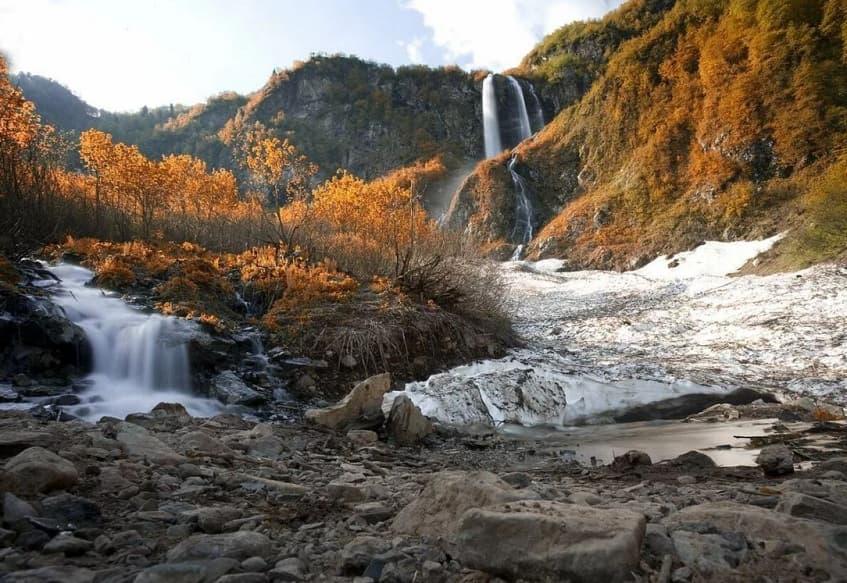 Водопад Поликаря - фото