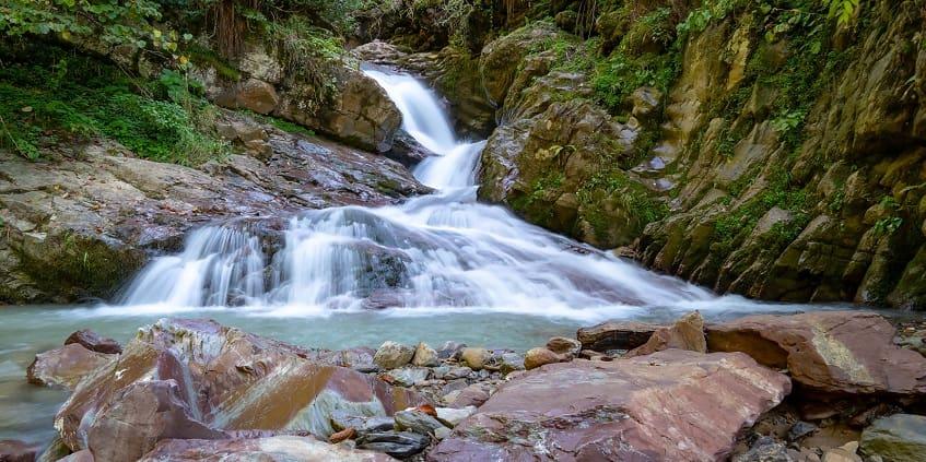 Водопад Мишкин Грот - фото