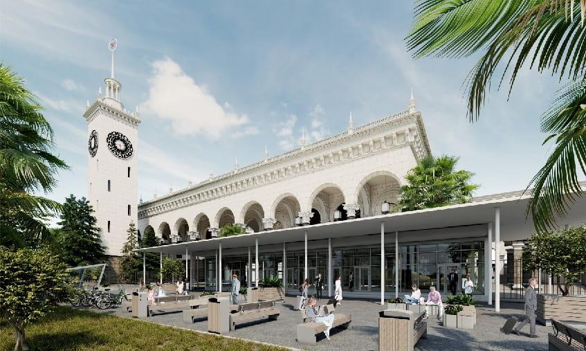 Железнодорожный вокзал - фото