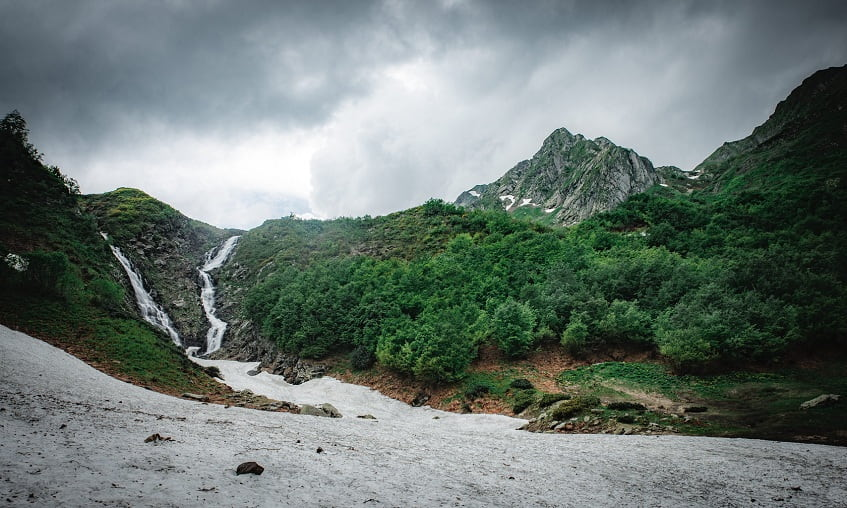 Водопад Братья - фото