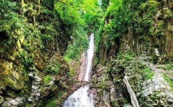 ВодопадБзогув Сочи - фото