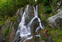Водопад Кейву в Красной Поляне - фото