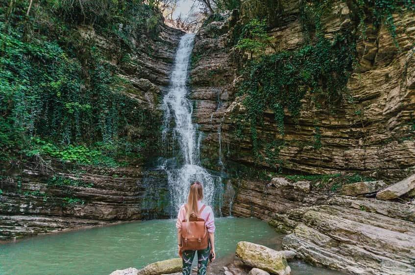 Водопад необыкновенной красоты - фото