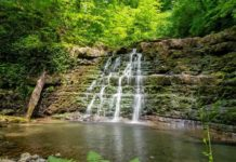 Мацестинские водопады - фото