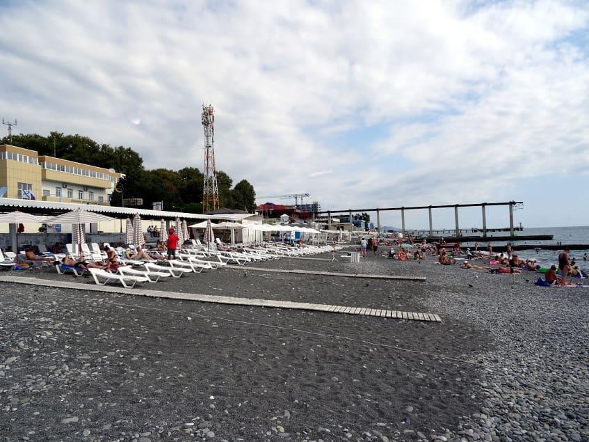 Пляж Чайка - фото