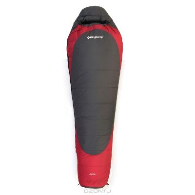 """Спальный мешок KingCamp """"Alpine 1600"""", цвет: красный, серый"""